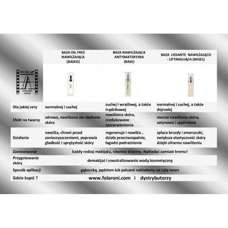 Baza nawilżająco-matująca - Base Antishine 30 ml