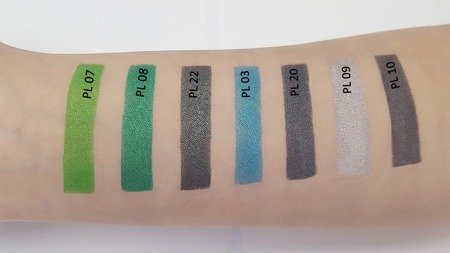 Cienie pastelowe 10 kol. DIA 36 - Crayon Eyeshadow Palette 10 Colours