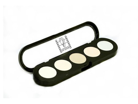 Paleta 5 cieni do powiek bazowych DIA 26 - Eyeshadow Palette