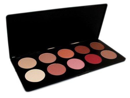 Paleta róży DIA 36 - 10 kol. - Palette Blush